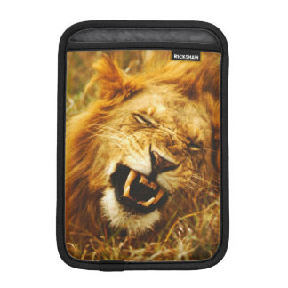 Africa, Kenya, Maasai Mara. Male lion. Wild iPad Mini Sleeve
