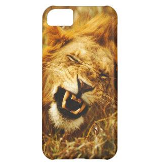 Africa, Kenya, Maasai Mara. Male lion. Wild iPhone 5C Case