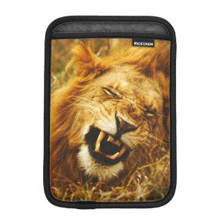 Africa, Kenya, Maasai Mara. Male lion. Wild Sleeve For iPad Mini