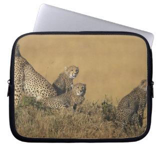 Africa, Kenya, Masai Mara Game Reserve, Adult 5 Laptop Sleeve