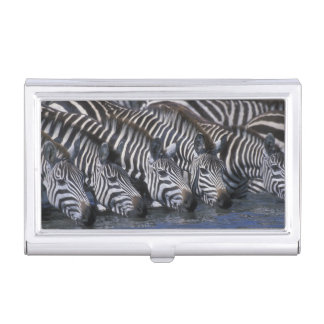 Africa, Kenya, Masai Mara Game Reserve, Plains Business Card Holder