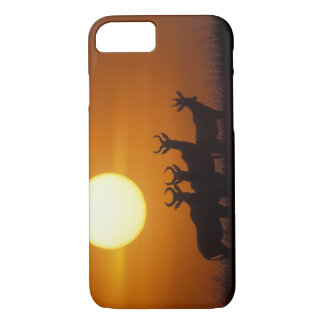 Africa, Kenya, Masai Mara Game Reserve, Topi iPhone 8/7 Case