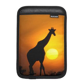 Africa, Kenya, Masai Mara. Giraffe (Giraffe iPad Mini Sleeve