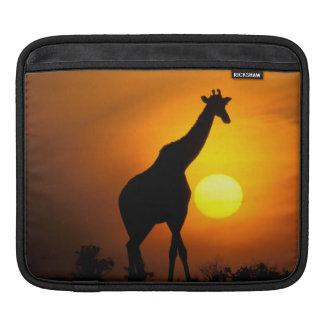 Africa, Kenya, Masai Mara. Giraffe (Giraffe iPad Sleeve