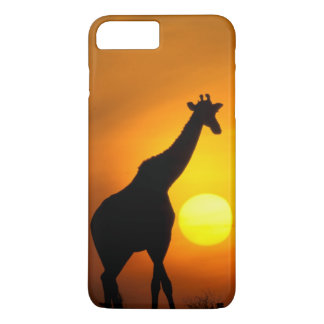 Africa, Kenya, Masai Mara. Giraffe (Giraffe iPhone 8 Plus/7 Plus Case