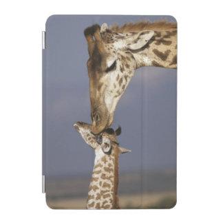 Africa, Kenya, Masai Mara. Giraffes (Giraffe iPad Mini Cover