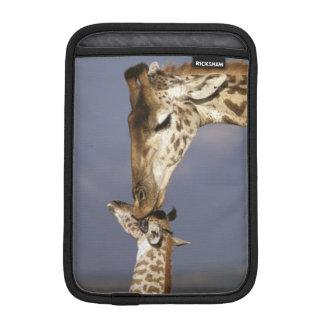 Africa, Kenya, Masai Mara. Giraffes (Giraffe iPad Mini Sleeve