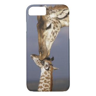 Africa, Kenya, Masai Mara. Giraffes (Giraffe iPhone 8/7 Case