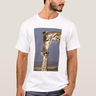 Africa, Kenya, Masai Mara. Giraffes (Giraffe T-Shirt