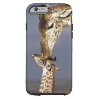 Africa, Kenya, Masai Mara. Giraffes (Giraffe Tough iPhone 6 Case