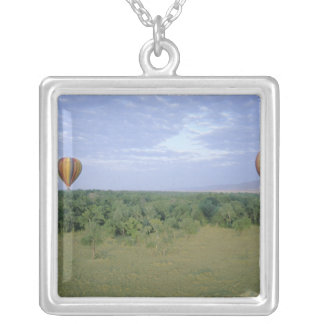 Africa, Kenya, Masai Mara National Preserve, 2 Silver Plated Necklace