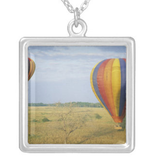 Africa, Kenya, Masai Mara National Preserve, Silver Plated Necklace