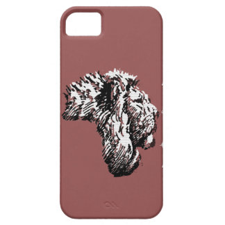 Africa Lyons iPhone 5 Cases