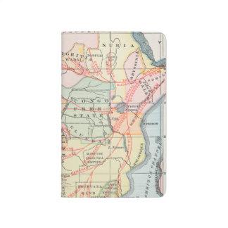 AFRICA: MAP, 1894 JOURNAL