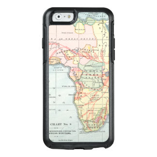 AFRICA: MAP, 1894 OtterBox iPhone 6/6S CASE