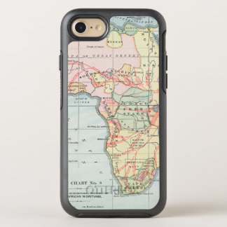 AFRICA: MAP, 1894 OtterBox SYMMETRY iPhone 8/7 CASE