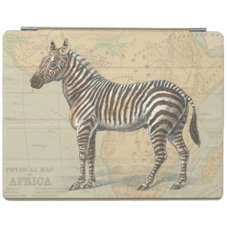 Africa Map and a Zebra iPad Cover