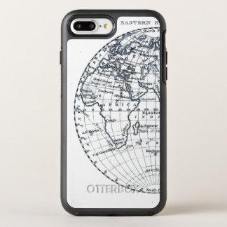 Africa Map Atlas Globe Illustration Minimalist OtterBox Symmetry iPhone 8 Plus/7 Plus Case