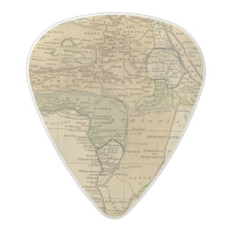 Africa  Map by Worcester Acetal Guitar Pick