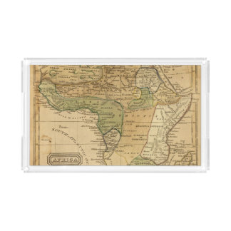 Africa  Map by Worcester Acrylic Tray