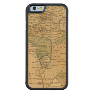 Africa  Map by Worcester Carved Maple iPhone 6 Bumper Case