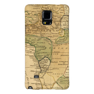 Africa  Map by Worcester Galaxy Note 4 Case