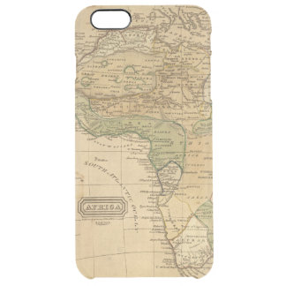 Africa  Map by Worcester Clear iPhone 6 Plus Case