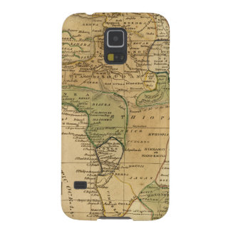 Africa  Map by Worcester Galaxy S5 Case