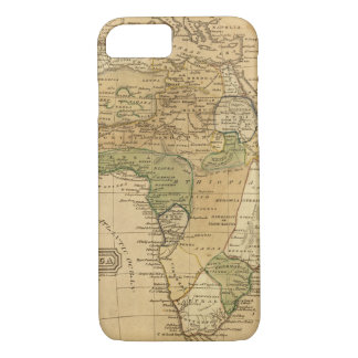 Africa  Map by Worcester iPhone 7 Case