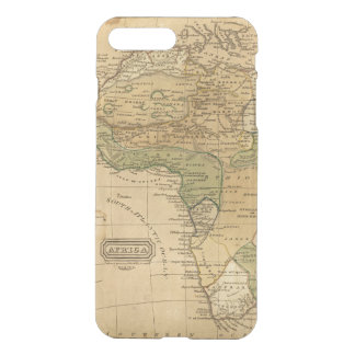 Africa  Map by Worcester iPhone 7 Plus Case