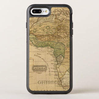 Africa  Map by Worcester OtterBox Symmetry iPhone 7 Plus Case