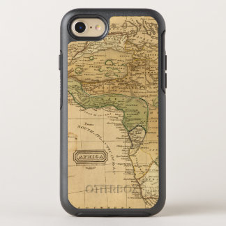 Africa  Map by Worcester OtterBox Symmetry iPhone 8/7 Case