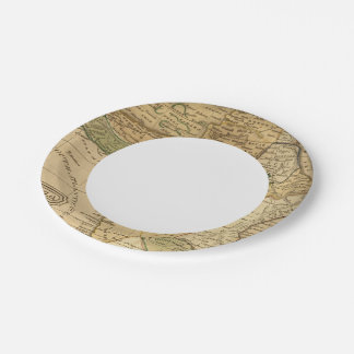 Africa  Map by Worcester Paper Plate