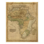 Africa  Map by Worcester Print