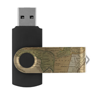 Africa  Map by Worcester USB Flash Drive