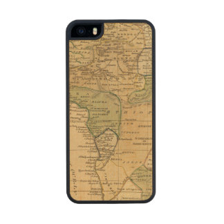 Africa  Map by Worcester Carved® Maple iPhone 5 Slim Case