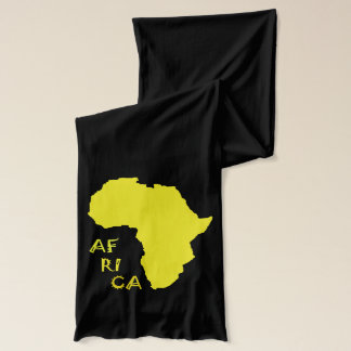 Africa Map Funky Stylish Soft Jersey Scarf
