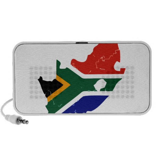 Africa map travelling speakers