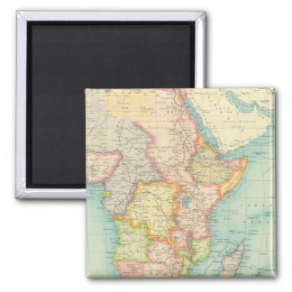 Africa Map with shipping routes Magnet
