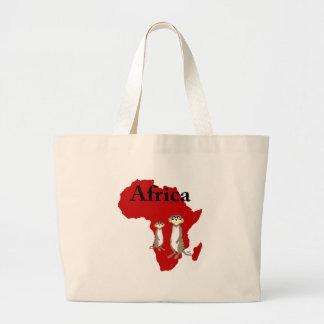 Africa meerkats bag