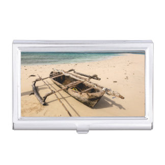 Africa, Mozambique, Mogundula Island Business Card Holder