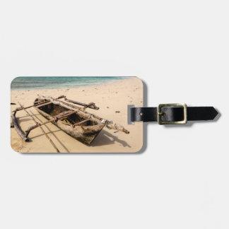 Africa, Mozambique, Mogundula Island Luggage Tag