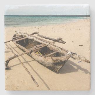 Africa, Mozambique, Mogundula Island Stone Coaster