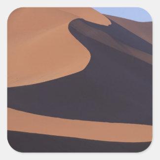 Africa, Namibia, Namib Desert. Sossusvlei. Square Sticker
