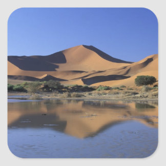 Africa, Namibia, Namib National Park, Sossusvlei 2 Square Sticker