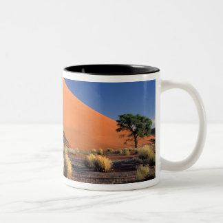 Africa, Namibia, Namib-Naukluff Park, Sossosvlei Two-Tone Coffee Mug