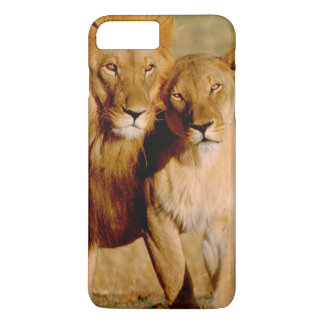 Africa, Namibia, Okonjima. Lion & lioness iPhone 8 Plus/7 Plus Case