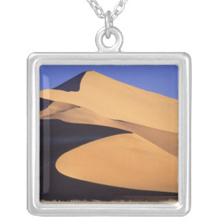 Africa, Namibia, Sesriem and Sossusvlei Namib Silver Plated Necklace