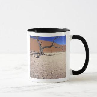 Africa, Namibia, Sossusvlei Region. Sand dunes Mug