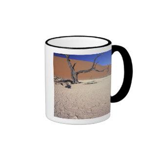 Africa, Namibia, Sossusvlei Region. Sand dunes Mugs